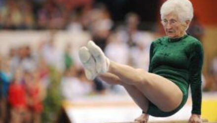 Шикарная женщина: 91 летняя гимнастка покорила мир