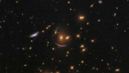 В космосе обнаружили улыбку Вселенной