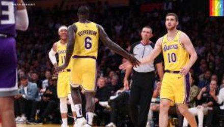 Украинец Михайлюк стал одним из лучших в матче НБА