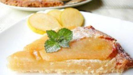 Грушевый пирог Невидимый: рецепт необычной осенней выпечки