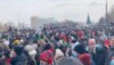 23 — го января прошли микроскопические митинги