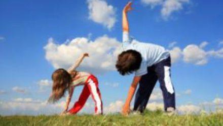 Детские упражнения для похудения