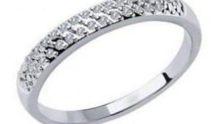 Кольцо из белого золота – показатель изысканного вкуса и высокого чувства стиля
