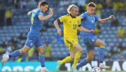 Сборная Украины обыграла Швецию и вышла в 1/4 финала Евро-2020